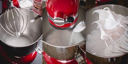 طرز تهیه شیرینی ماکارون , دستور شیرینی ماکارون , شیرینی ماکارون با ماکروفر
