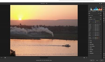 فیلتر خام دوربین, فیلتر خام دوربین در فتوشاپ, فیلتر camera raw در فتوشاپ