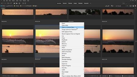 کلید میانبر camera raw در فتوشاپ, Camera raw filter فتوشاپ, پنل های تنظیمات Camera Raw