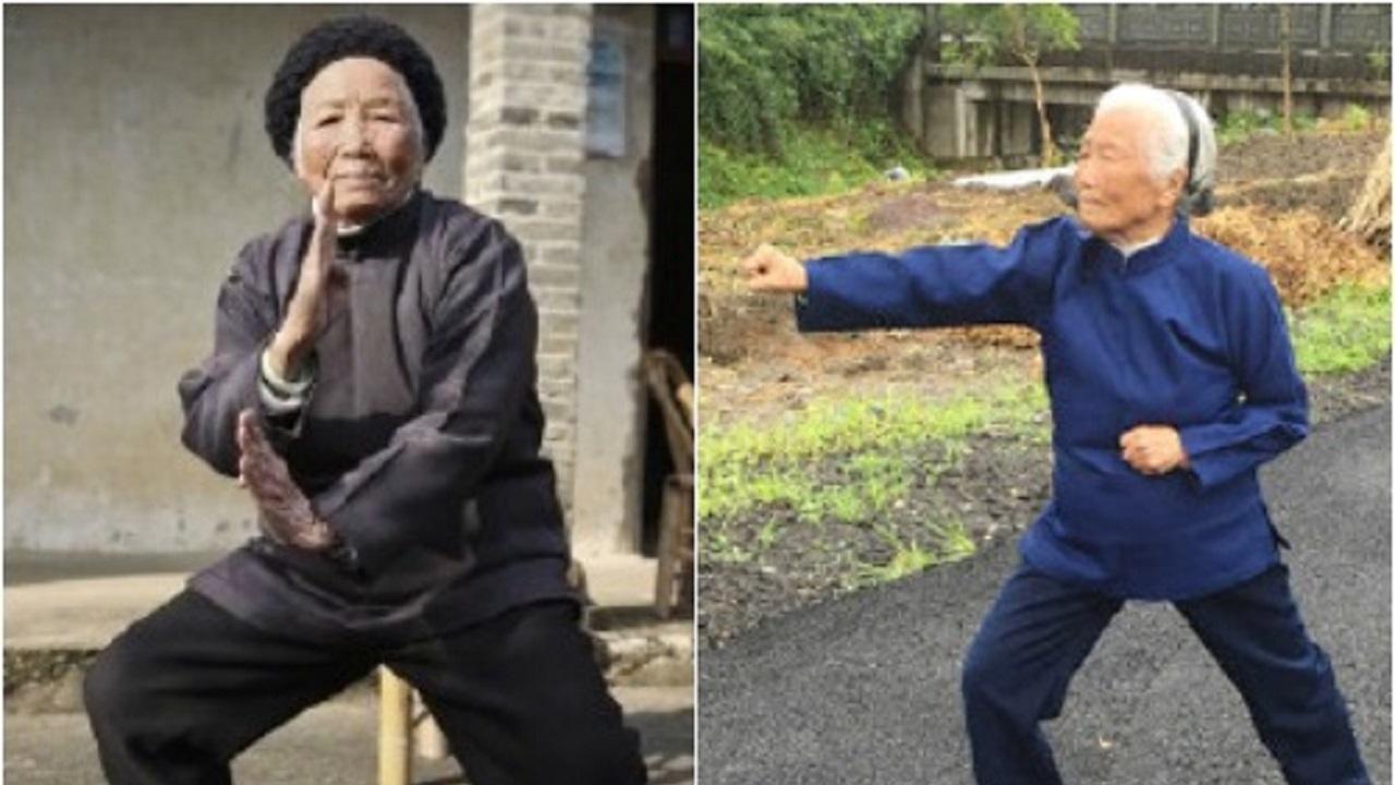 زن ۹۸ ساله چینی استاد کونگ فو،اخبار گوناگون،خبرهای گوناگون