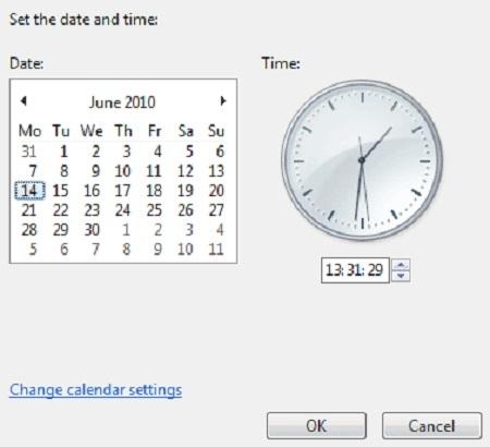 نحوه تنظیم ساعت ویندوز, تنظیم ساعت و تاریخ در ویندوز 10, تنظیم ساعت و تاریخ ویندوز ۷