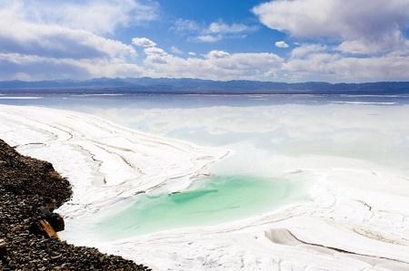 نقش دریاچه چاکا در اقتصاد چین, زیباترین دریاچه نمک چین, دریاچه نمک چاکا