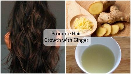 ماسک مو زنجبیل برای درمان ریزش مو, پیشگیری از ریزش مو با زنجبیل, زنجبیل و رشد مو